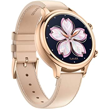TicWatch C2 Smart Watch Classic Fashion Fitness smartwatch for Women with All Day Heart Rate, GPS, NFC, Notifications and Alert, Compatible with Android and iOS (Rose Gold)