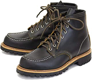 [レッドウィング] 9878 Irish Setter 6inch Moc-toe/Vibram Lug Sole ビブラムラグソール ブラッククロンダイク