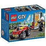 LEGO- City ATV dei Pompieri, Colore Non specificato, 60105