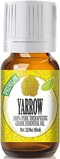 Yarrow Essential Oil - 100% Pure Therapeutic Grade Yarrow Oil - 10ml