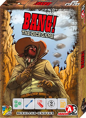 ABACUSSPIELE 36132 - Bang! The Dice Game (deutsch)