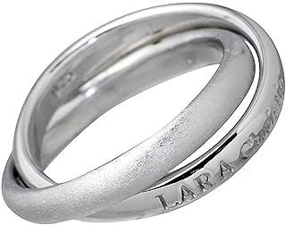 LARA Christie ララクリスティー ロンド シルバー リング WHITE Label LA-R3871-W