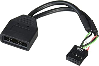 Silverstone Tek Internal 19-Pin USB3.0 to USB2.0 Adapter Cable (G11303050-RT)