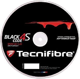 Tecnifibre Black Code 4S 1.30mm (16 Gauge) Tennis String 200 Meter Reel