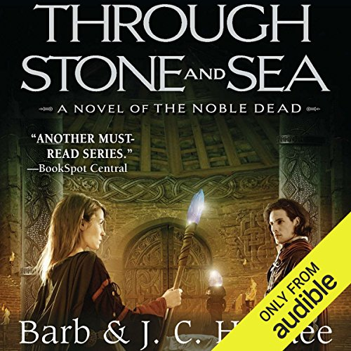 Through Stone and Sea audiobook cover art