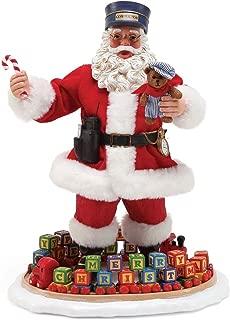 Department 56 Possible Dreams Santa's 6000708 Midnight Express Figurine, Multicolor