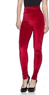 Best womens red velvet pants Reviews