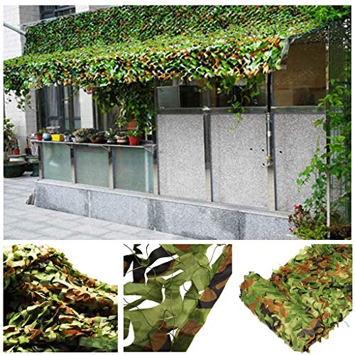 2m 3m 4m 5m 6m 8m 10m Army Camouflage Net Woodland Camo Netting for Kids Den Building Hunting Shooting Hide Camping Shelters Garden Terrace Gazebo Balcony Pergola Decoration (Size : 2 * 3M)