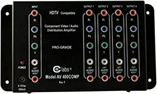 Cable Electronics Labs AV400COMP A/V Switcher