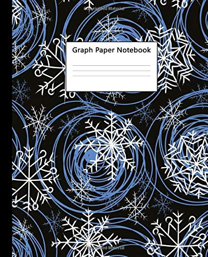 Graph Paper Notebook: Magnificent Winter Quad Ruled 5 x 5 inch (.20