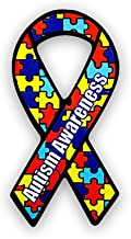 Large Autism Ribbon Magnets (Wholesale Pack - 24 Magnets)
