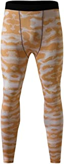 Men's Camouflage Sports Compression Tights Leggings Running Baselayer Cool Dry Sports Tights