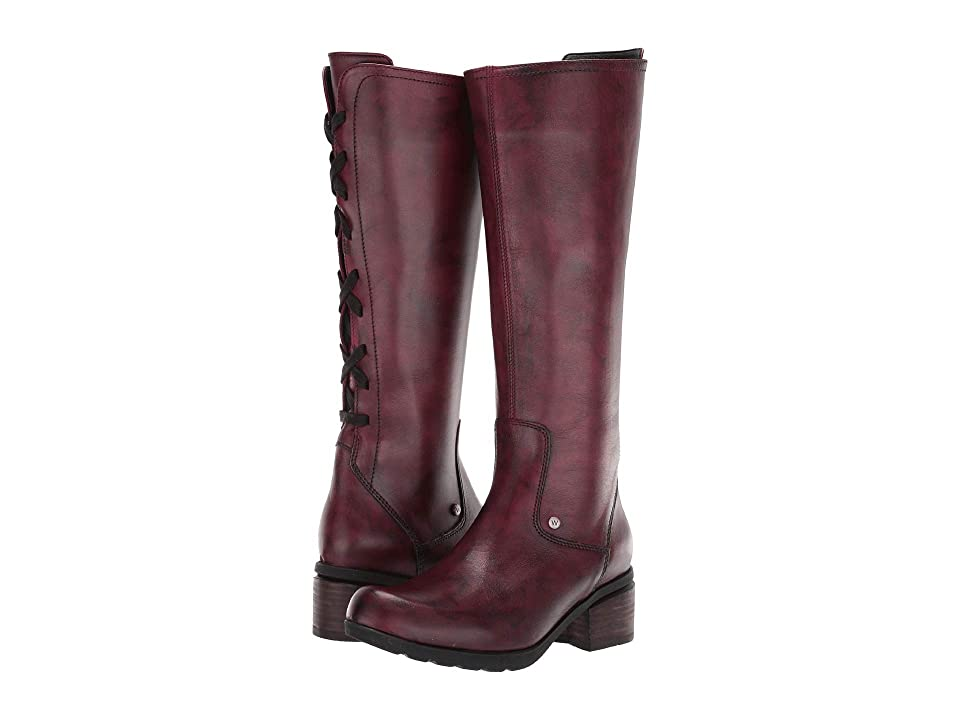 Wolky Hayden (Oxblood) Women