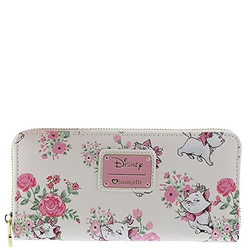 Loungefly x Disney Marie Floral AOP Wallet