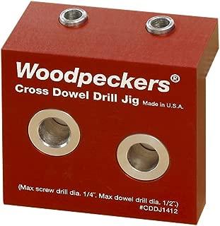 Woodpeckers Precision Woodworking Tools CDDJ14716 Cross Dowel Jig