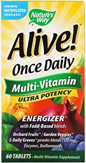 Natures Way Alive Once Daily Multi Vitamin - 60 Tablets