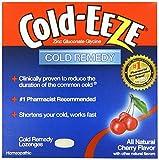 Cold-EEZE Cold Remedy Lozenges All Natural Cherry, 10 Count, Cold Remedy Lozenges, Pharmacist Recommended Zinc Lozenge, Shortens Colds