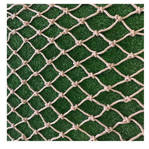 LYRWISHLTD Juteschnur String Netting NatüRliche Dekorative Hanf Net Gartenpflanze Klettern Wachstum Dekoratives Netz VerschleißFesten Hanfnetz Kletternetz Kindersicherheits Netz