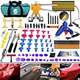 DIY Paintless Dent Repair Kit - Gliston 89pcs Dent Puller Tools Slide Hammer for Car Hail Damage Dent & Ding Remover