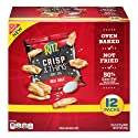 Ritz Crisp & Thins Sea Salt Chips, 12 Count Individual Snack Bags