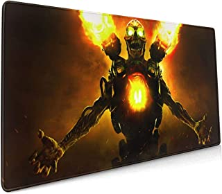 Doom Mouse Pad Rectangle Non-Slip Rubber Electronic Sports Oversized Large Mousepad Gaming Dedicated,for Laptop Computer & PC 15.8X35.4 Inch