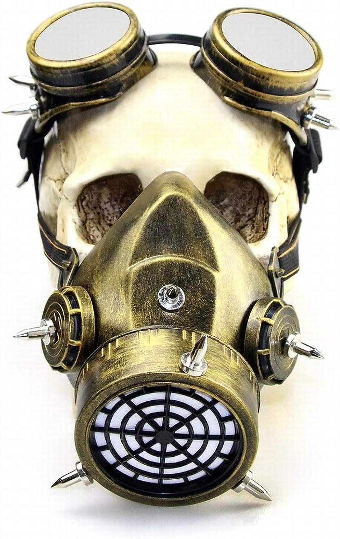 Nuevos productos de artículos novedosos. ArojoOVL MásCochea de de de Gas de Steampunk del Maquillaje de la másCochea gótica Retra de Halloween para el Partido de CosJugar (Color   3)  forma única
