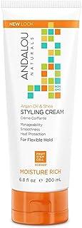 Styling Cream, Argan Oil & Shea, Moisture Rich, 6.8 oz by Andalou Naturals