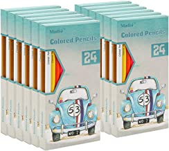 Madisi Colored Pencils Bulk - Pre-Sharpened - 12 Packs of 24-Count - 288 Colored Pencils for Kids