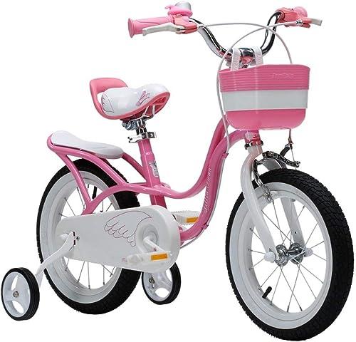 Kinderfürr r JJ@ Jungen und mädchen Bike Outdoor-Trip Casual Entertainment, Rosa (12 Zoll, 14 Zoll, 16 Zoll, 18 Zoll)