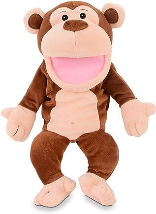 Fiesta Crafts T-2343 Monkey Hand Puppet