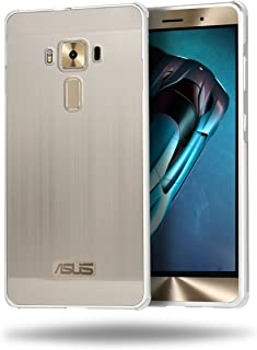 [fitmore ] Case Asus ZenFone 3 Deluxe ZS570KL 5.7 inch Ultra Slim Fit Soft Protective Shell Cell Phone Cases Case Back Shell case Compatible with Asus ZenFone 3 Deluxe ZS570KL 5.7 inch (Silver)