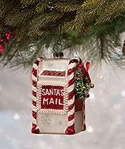 Bethany Lowe Santas Mail Glass Hanging Christmas Tree Ornament