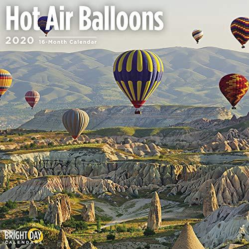 Hot Air Balloons Calendar 2020