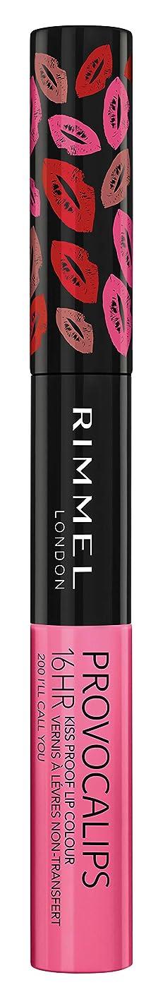 受け皿公提案するRIMMEL LONDON Provocalips 16Hr Kissproof Lip Colour - I'll Call You (並行輸入品)