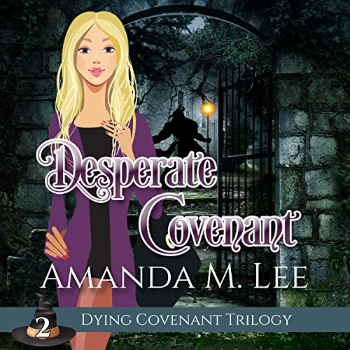 Desperate Covenant audiobook cover art