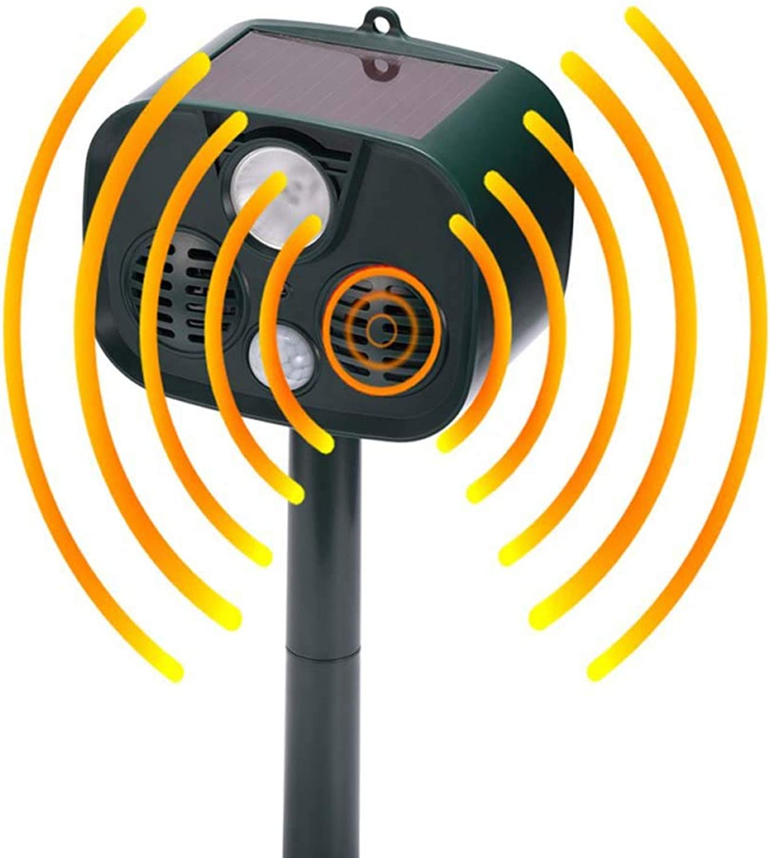 Solar Ultrasonic Bird Repeller, Dog Artifact, Dog Drive, Dog, Outdoor Mosquito Repellent, Portable Repeller