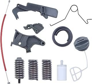 Haishine Throttle Trigger Cable Spring Support AV Buffer Spring Kit for Husqvarna 362 365 371 372 Chainsaw Fuel Filter Line Cap