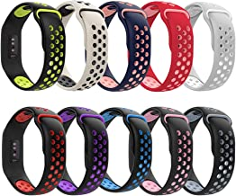 Compatible with Charge 3 Bands/Charge 3 SE Watch Bands,Applestore Waterproof Replacement Wristband Accessories for Charge 3 & Charge 3 SE Watch Bands for Women Girls Men Teens,10Packs