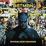 Official Batman Comics 2022 Calendar - Month To View Square Wall Calendar