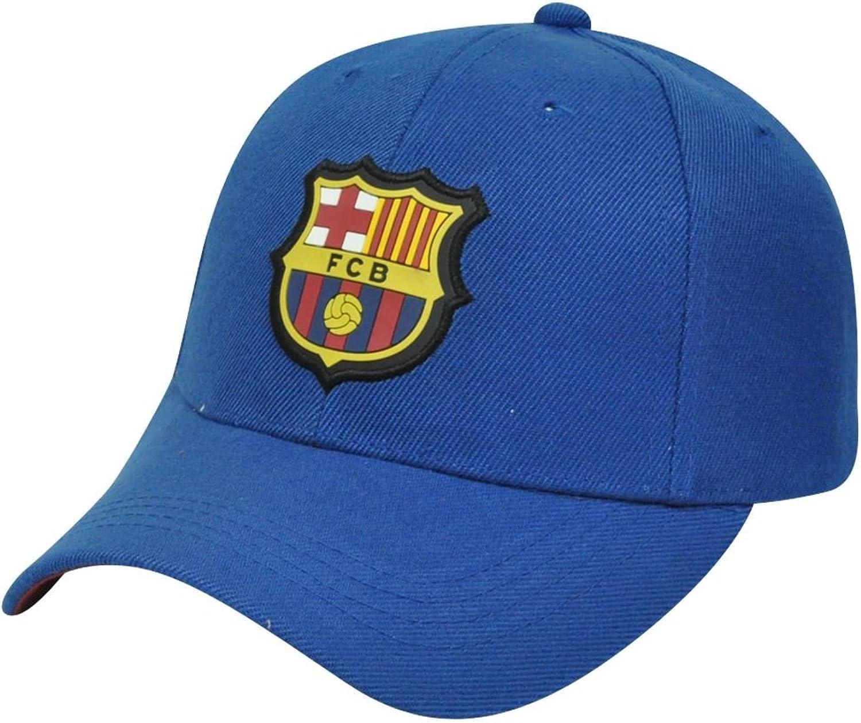FC Barcelona FCB Barca Spain Soccer La Liga Velcro Gorra Curved Bill Hat Cap