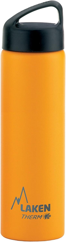 Laken Classic Botella Térmica Acero Inoxidable 18/8, Aislamiento de Vacío con Doble Pared y Boca Ancha - 350, 500, 750 y 1000 ml.