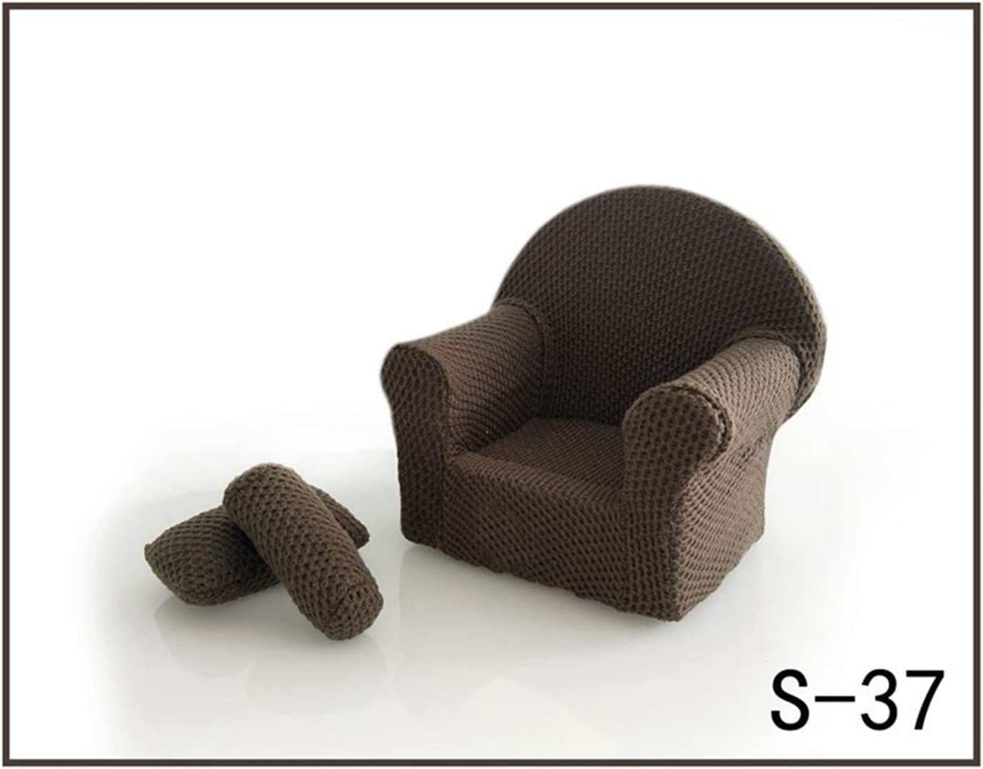 S-36 Bespeture Baby Photography Props for Newborn Sofa Mini With Pillow Photo Posing Accessories