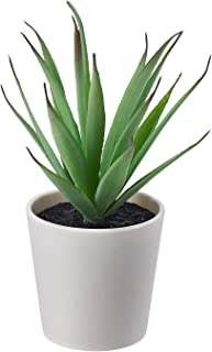 Digital Shoppy IKEA Artificial Potted Plant with Pot Indoor Outdoor Succulent