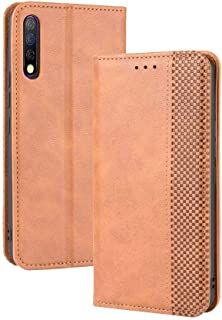 Case for Infinix TECNO Camon 12 Pro,Leather Stand Wallet Flip Case Cover for Infinix TECNO Camon 12 Pro,Retro magnetic Pho...