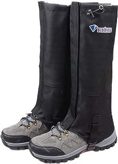 TRIWONDER Leg Gaiters Waterproof Snow Boot Gators Hiking Gaiters Men Women for Walking Climbing Hunting Cycling Backpacking Lightweight Rain Shoe Gaiters (1 Pair)