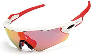 Aooaz Tr Half Frame Polarized Riding Glasses Outdoor Windproof Glasses