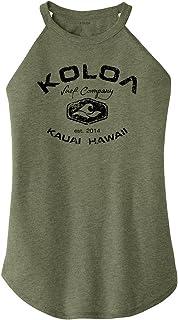Koloa Surf Ladies Vintage Arch Perfect Blend Rocker Tank Sizes XS-4XL