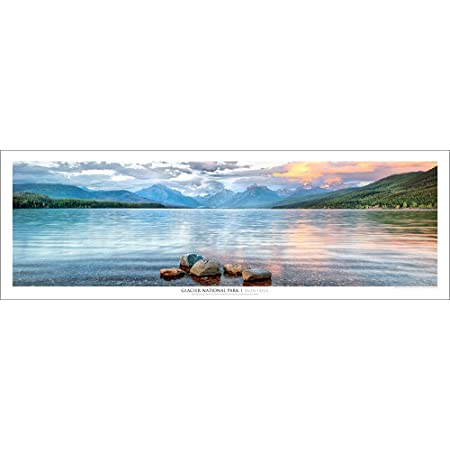 Glacier National Park Montana #10 McDonald Creek Photo Poster Print