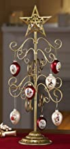 Collections Etc Joyous Holiday Tree Christmas Ornament Holder