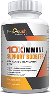 Immunity Booster Support Vitamins–Immune Boost Defense with Zinc, Elderberry, Vitamin C, Echinacea, Turmeric & Antioxidant...